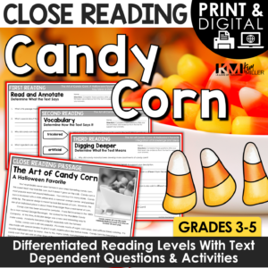 Candy Corn Close Reading