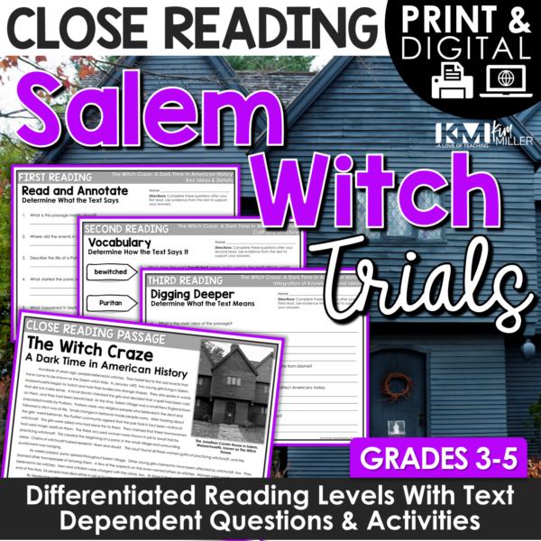 Salem Witch Trials Close Reading