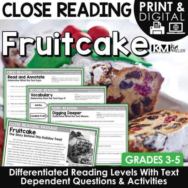 Fruitcake Close Reading